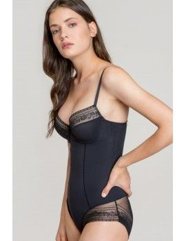 Body Gisela Perfect Fit con Efecto Shaping (Negro)