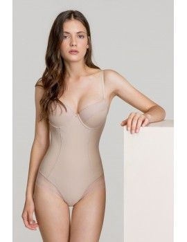 Body Gisela Perfect Fit con Efecto Shaping (Piel)